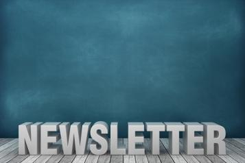 newsletter in words