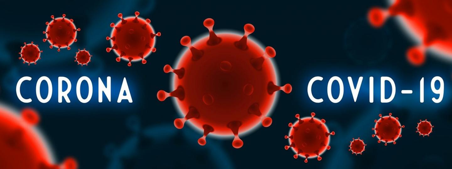 corona virus image of cell and virus name